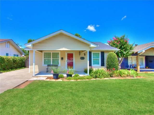 3321 NW 17th Street, Oklahoma City, OK 73107 (MLS #967707) :: The UB Home Team at Whittington Realty
