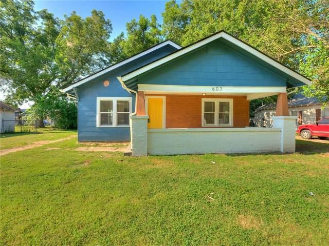 607 W Dewey Street, Shawnee, OK 74801 (MLS #967733) :: The UB Home Team at Whittington Realty