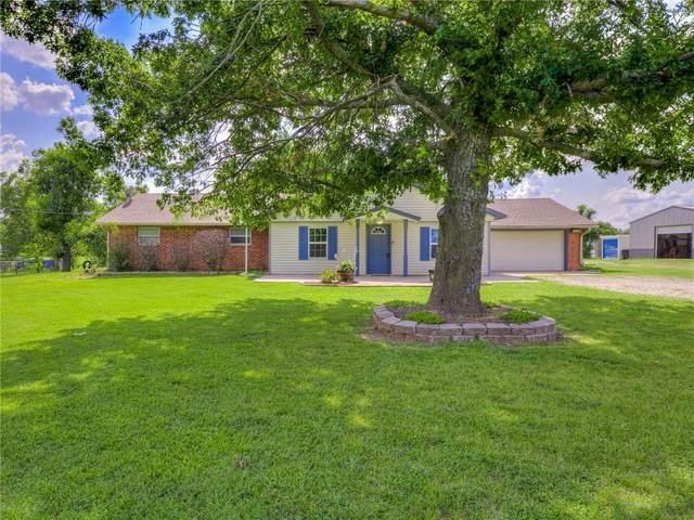 27693 Hershal Smith Road, Blanchard, OK 73010 (MLS #967841) :: Meraki Real Estate