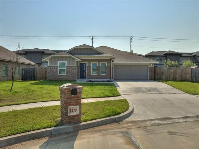 1420 Ridgeway Drive, Moore, OK 73160 (MLS #967950) :: Meraki Real Estate