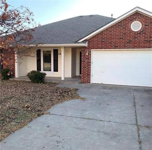 2405 Edgewood Drive, Moore, OK 73160 (MLS #968165) :: KG Realty