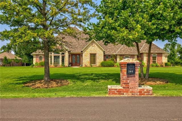 201 S Olde Bridge Drive, Moore, OK 73160 (MLS #968190) :: Meraki Real Estate