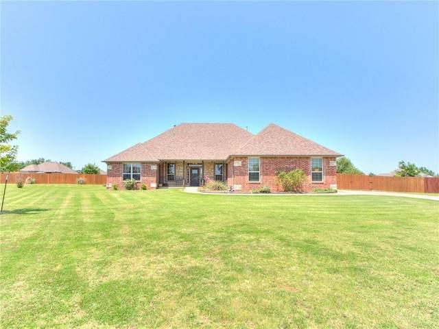 5500 Hidden Fawn Circle, Mustang, OK 73064 (MLS #968474) :: Homestead & Co