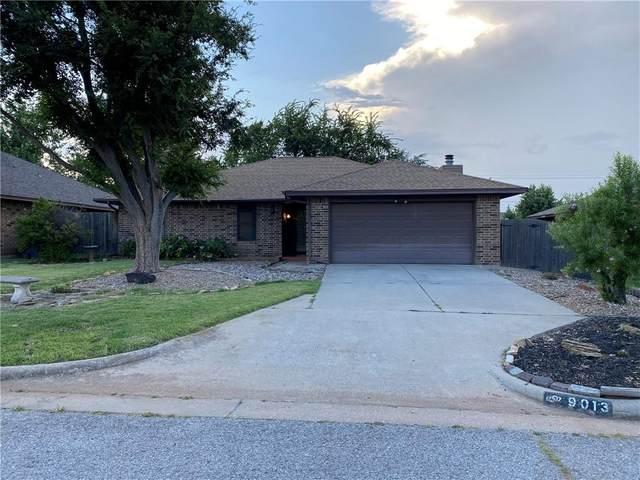 9013 Dena Lane, Oklahoma City, OK 73132 (MLS #968525) :: ClearPoint Realty