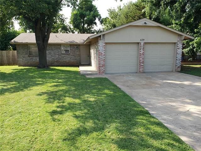 429 Meadow Lake Drive, Edmond, OK 73003 (MLS #968722) :: Homestead & Co