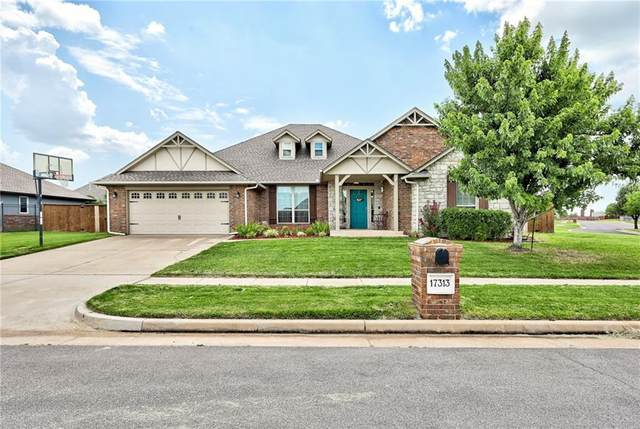 17313 Hawks Tree Lane, Edmond, OK 73012 (MLS #968783) :: Homestead & Co