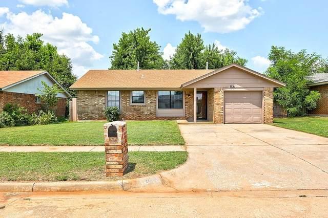 821 W Perry Drive, Mustang, OK 73064 (MLS #969095) :: Keller Williams Realty Elite