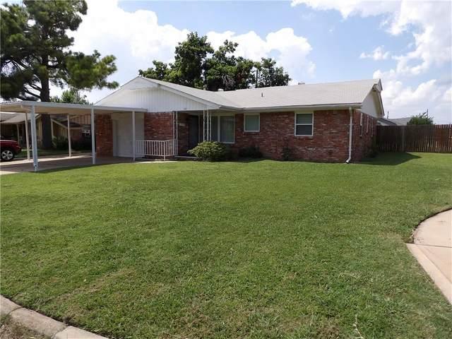 101 S Thompson Drive, Moore, OK 73160 (MLS #969271) :: Erhardt Group