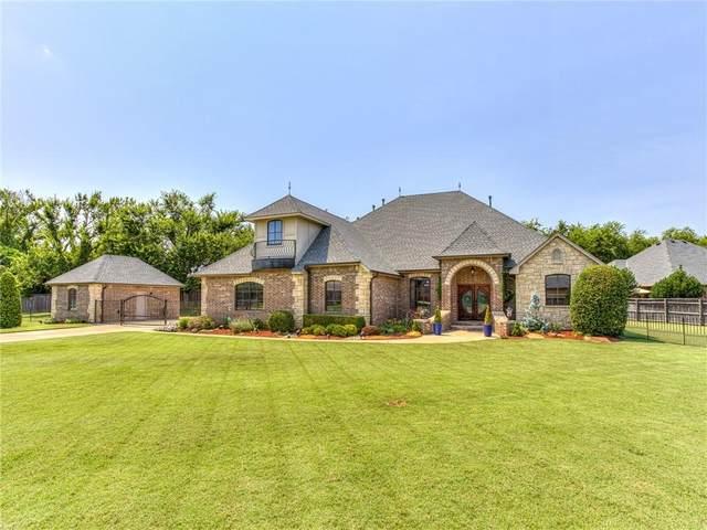 12401 Deepwood Creek Drive, Oklahoma City, OK 73142 (MLS #969417) :: Erhardt Group