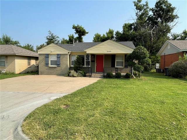 2109 Brighton Avenue, Oklahoma City, OK 73120 (MLS #969549) :: KG Realty