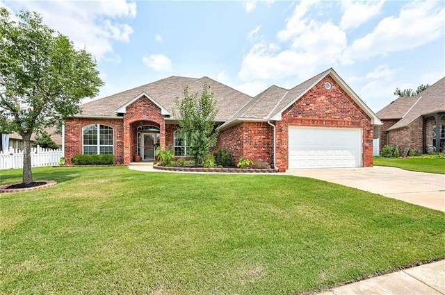 16700 Brewster Lane, Edmond, OK 73012 (MLS #969769) :: Homestead & Co