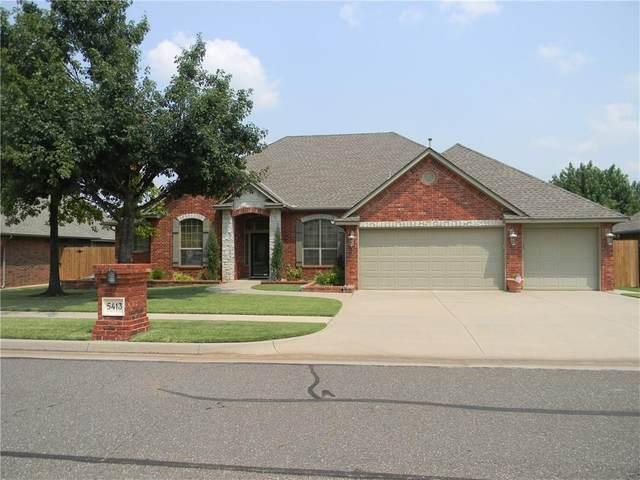 5413 NW 122nd Terrace, Oklahoma City, OK 73162 (MLS #969902) :: Keller Williams Realty Elite