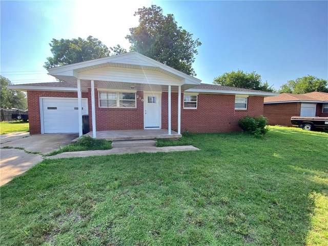 210 S Western Avenue, Dill City, OK 73641 (MLS #970057) :: Meraki Real Estate