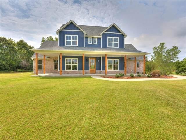 440 Houser Drive, Choctaw, OK 73020 (MLS #972134) :: The UB Home Team at Whittington Realty