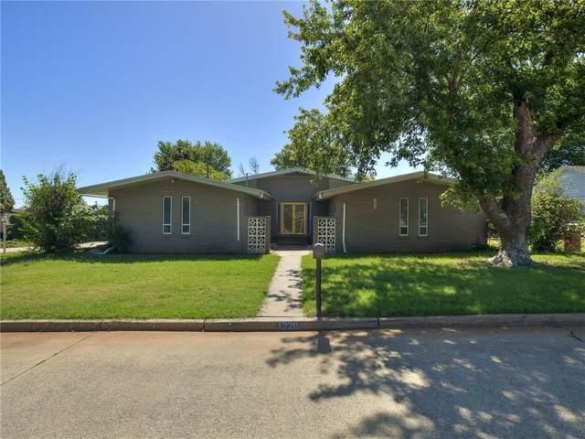 1220 N Kansas Street, Weatherford, OK 73096 (MLS #972460) :: Erhardt Group