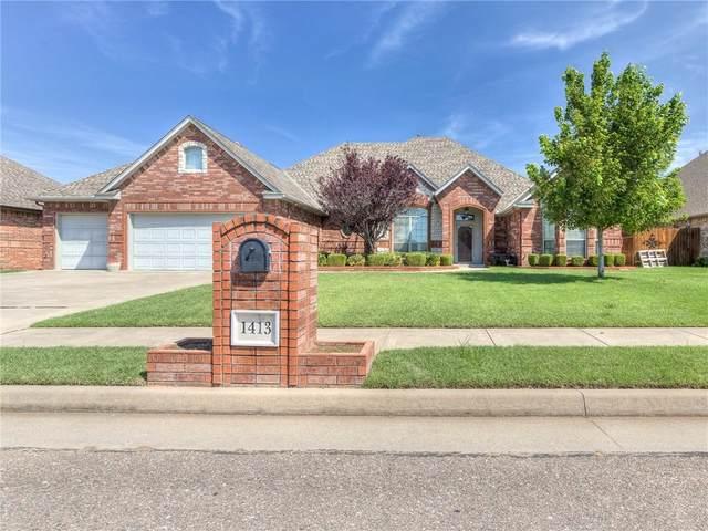 1413 SW 135th Street, Oklahoma City, OK 73170 (MLS #972670) :: Erhardt Group