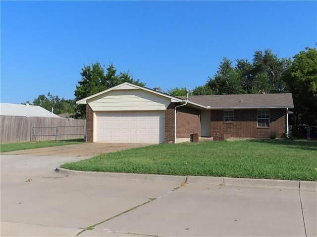 603 Crestmoore Drive, Moore, OK 73160 (MLS #974691) :: Erhardt Group
