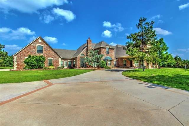 5900 Hidden Meadow Drive, Mustang, OK 73064 (MLS #975405) :: The UB Home Team at Whittington Realty