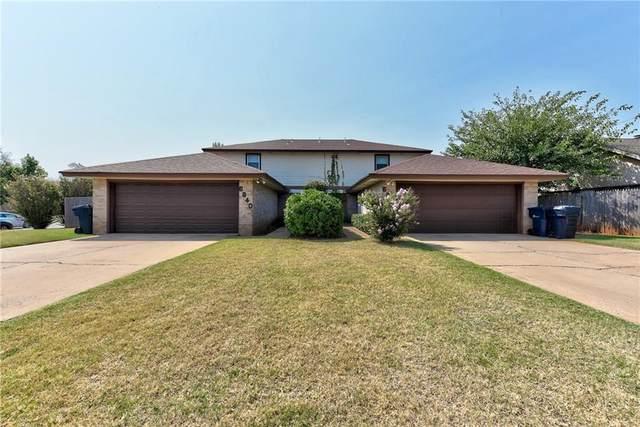 6816 Woodlake Drive, Oklahoma City, OK 73132 (MLS #976393) :: KG Realty