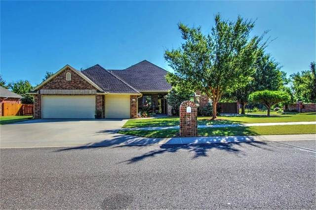 2712 Land Run Road, Moore, OK 73160 (MLS #976404) :: Homestead & Co
