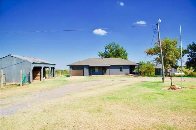 23886 E 860 Road, Thomas, OK 73669 (MLS #976482) :: Homestead & Co