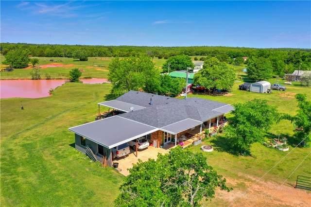 3446 New Hope Road, Tecumseh, OK 74873 (MLS #976491) :: Maven Real Estate