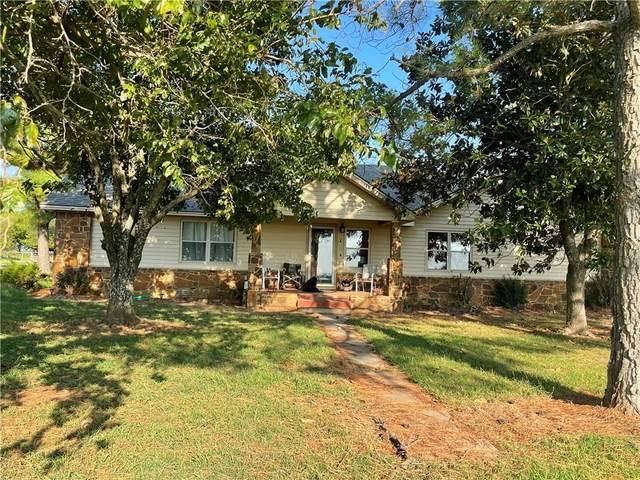 2790 N 376 Road, Holdenville, OK 74848 (MLS #976506) :: Maven Real Estate