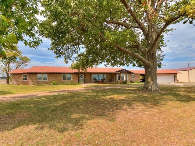 15504 Brangus Road, Shawnee, OK 74801 (MLS #976584) :: Homestead & Co