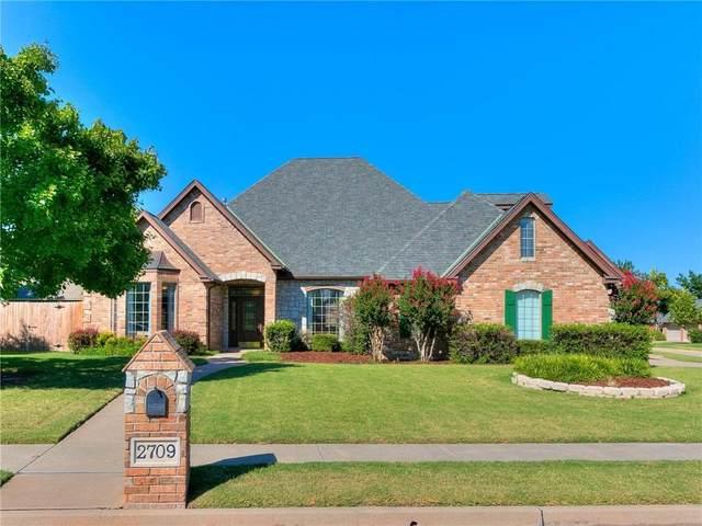 2709 SW 124th Terrace, Oklahoma City, OK 73170 (MLS #976736) :: Homestead & Co