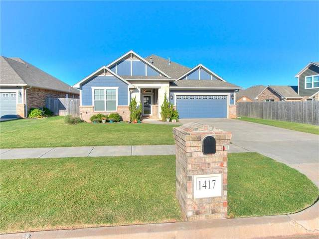 1417 Atalon Drive, Moore, OK 73160 (MLS #977091) :: ClearPoint Realty