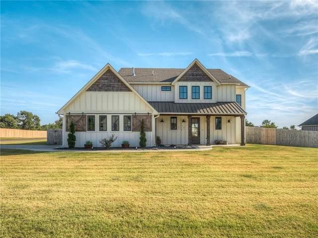280 Old Farm Road, Edmond, OK 73034 (MLS #977114) :: Homestead & Co