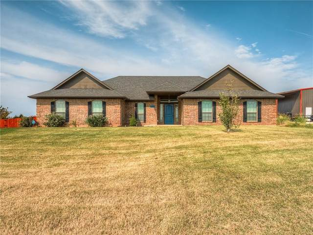 5764 Hillside Drive, Guthrie, OK 73044 (MLS #977160) :: Homestead & Co