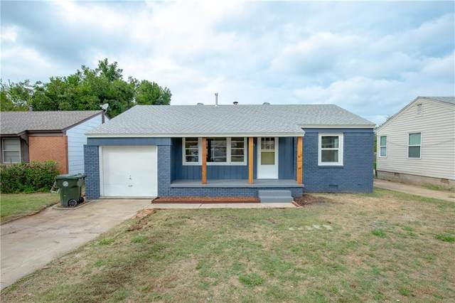 7411 SE 15th Street, Midwest City, OK 73110 (MLS #979114) :: The UB Home Team at Whittington Realty