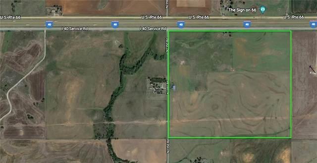 W Rural Wford I40 Frontage Road, Weatherford, OK 73096 (MLS #979329) :: 580 Realty