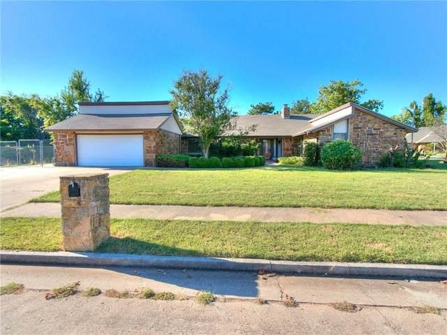1217 E Hills Drive, Moore, OK 73160 (MLS #979680) :: Keller Williams Realty Elite