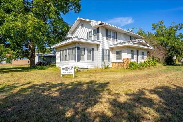 318 S Washita Street, Wetumka, OK 74883 (MLS #979944) :: Meraki Real Estate