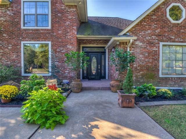 12800 Twin Pines Lane, Choctaw, OK 73020 (MLS #980064) :: Keller Williams Realty Elite