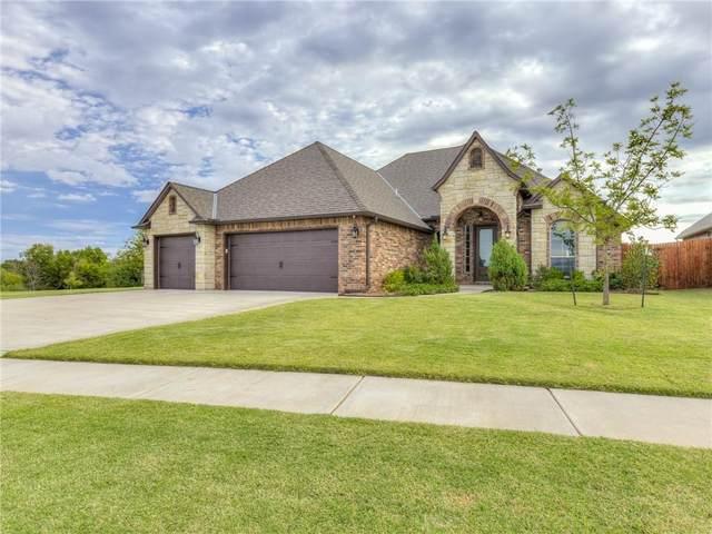 3700 Sendera Lakes Drive, Moore, OK 73160 (MLS #980256) :: Homestead & Co