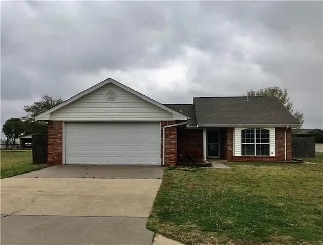 506 Russell Avenue, Cordell, OK 73632 (MLS #980783) :: Meraki Real Estate