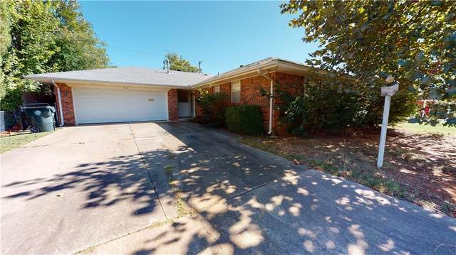 616 Moraine Avenue, Midwest City, OK 73130 (MLS #980903) :: The UB Home Team at Whittington Realty