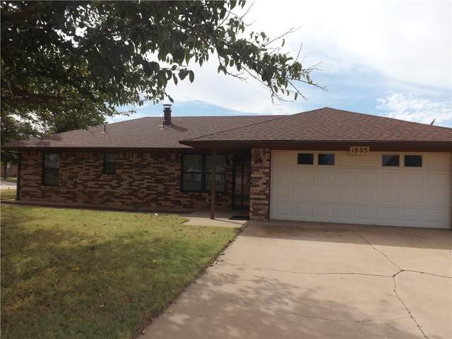 1805 Jupiter Street, Altus, OK 73521 (MLS #981143) :: Sold by Shanna- 525 Realty Group