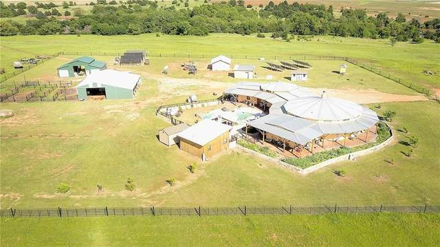 7680 W County Road 66 Road, Mulhall, OK 73063 (MLS #981181) :: KG Realty