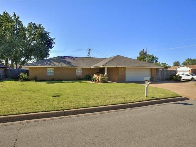1202 E Proctor, Weatherford, OK 73096 (MLS #981236) :: Maven Real Estate