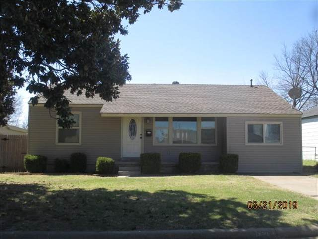 402 Russell Drive, Midwest City, OK 73110 (MLS #981814) :: The UB Home Team at Whittington Realty