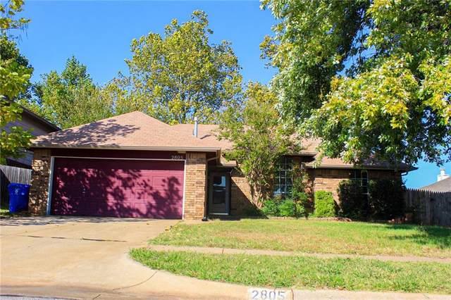 2805 S Dalewood Terrace, Norman, OK 73071 (MLS #982020) :: Homestead & Co