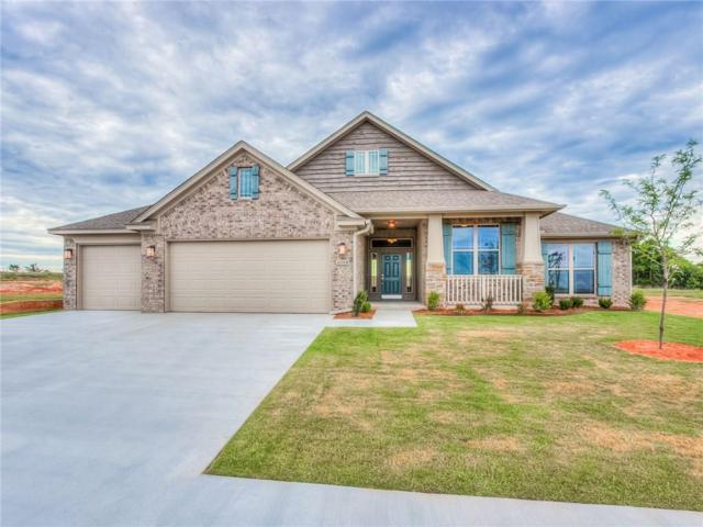 16008 Tall Grass Drive, Moore, OK 73170 (MLS #760084) :: Wyatt Poindexter Group