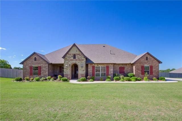 3170 Staghorn Drive, Blanchard, OK 73010 (MLS #767623) :: Richard Jennings Real Estate, LLC