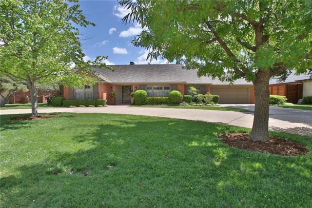 1610 Drakestone Avenue, Nichols Hills, OK 73120 (MLS #770929) :: Richard Jennings Real Estate, LLC
