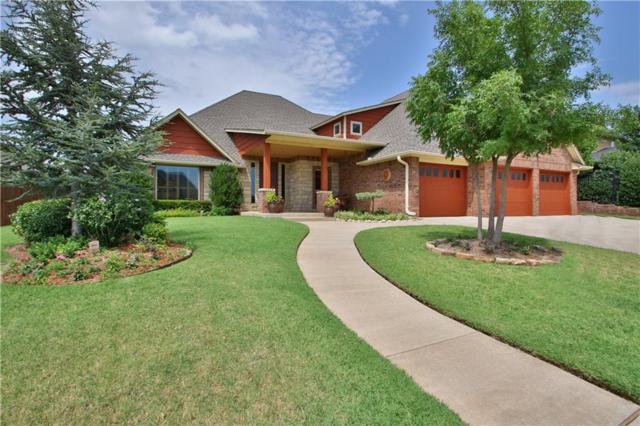 7613 Canyon Lakes Drive, Oklahoma City, OK 73142 (MLS #772564) :: Homestead & Co