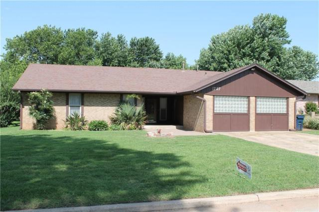 1727 Briarwood Drive, Purcell, OK 73080 (MLS #774217) :: Wyatt Poindexter Group
